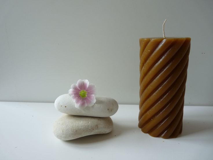 100% Pure Beeswax Spiral Twist Candle , Solid Beeswax Pillar Candle, Cylinder pillar, Hand made candle, Pure Beeswax, Home & Living  Home Décor  Candles & Holders  Candles  candles  candle  Beeswax  Hand made  Honeycomb Handmade  beeswax pillar  beeswax candle  cylinder  spiral candle  spiral pillar  spiral twist candles  bees wax candle