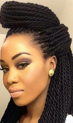 96 best box braids updo hairstyles images on pinterest hairstyle how to rock killer crotchet braids in 2015 pmusecretfo Gallery