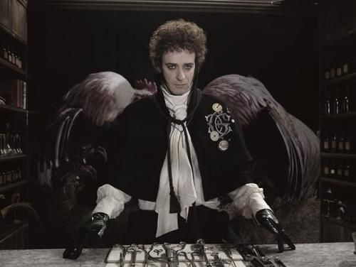 #GustavoCerati... Aves del paraiso - Calendario 2008 - Gaby Herbstein
