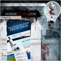 DesignStudio Template | Website Design Alaska  | #web #webdesign #WebsiteDesignAlaska  |