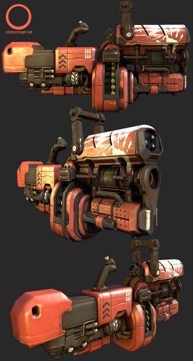 Grenade Launcher by *MoofAnderson on deviantART