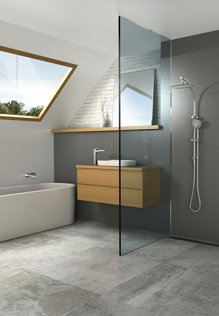 The Phoenix Rush collection adds design style to any bathroom space.