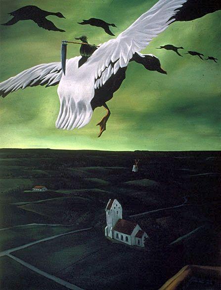 Goosechase, Martin Bigum (1966- ), 1994. (Private Collection) Via.
