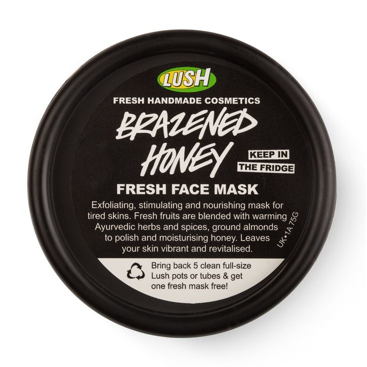 Lush - Brazened honey face mask