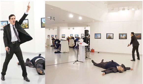 The Attacker Who Assassinated The Russian Ambassador To Turkey In Ankara Has Been Identified By Turkish Media A Undercover Police Police Officer Police Academy