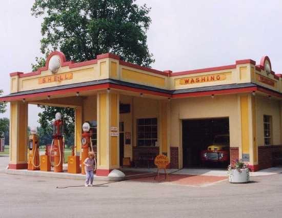 Shell Station  Barry Co - MI