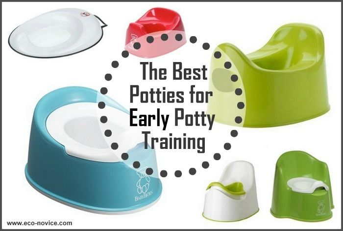 The Best Potties for Early Potty Training ~ Eco-novice