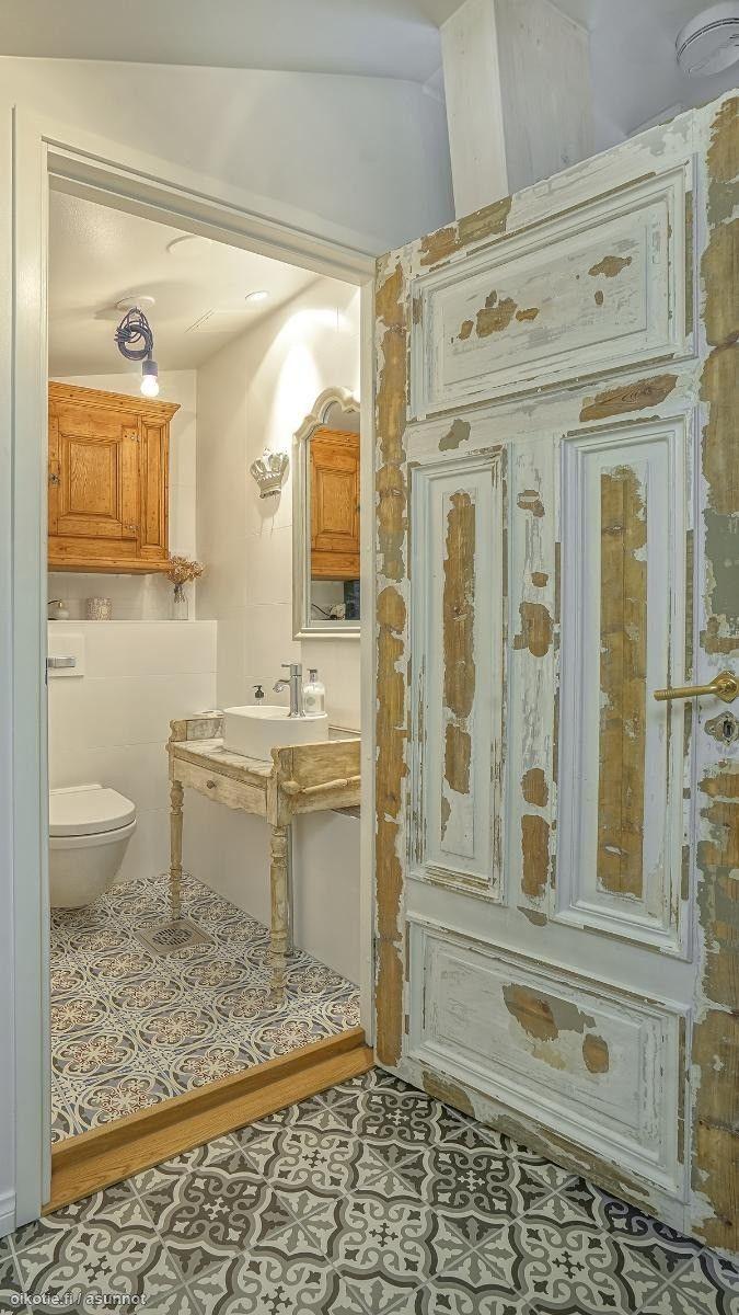 Myytävät asunnot, Kauppiaankatu 4, Helsinki #oikotieasunnot #kylpyhuone #bathroom