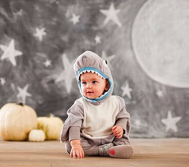 Baby Shark Halloween Costume , 6-12 Months