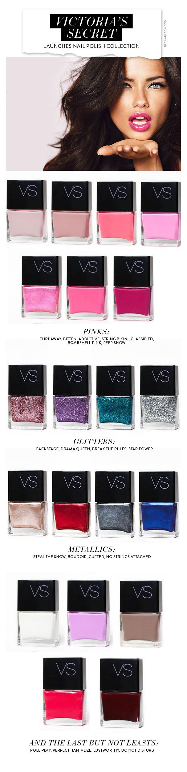 Victoria's Secret Launches Nail Polish Collection
