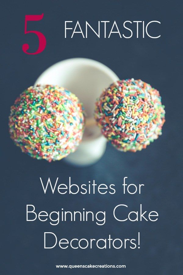 The best sites for cake decorating tutorials and inspiration that every cake decorator needs!