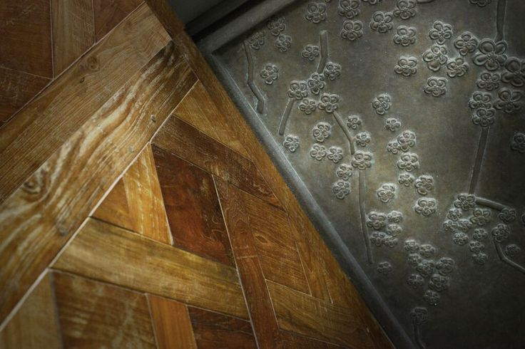 Exquisite Vintage Recycled Teak Parquetry from the hearts of Java. #RecycledWood #recycledtimber #recycledfloors #recycledflooring #recycledwoodflooring
