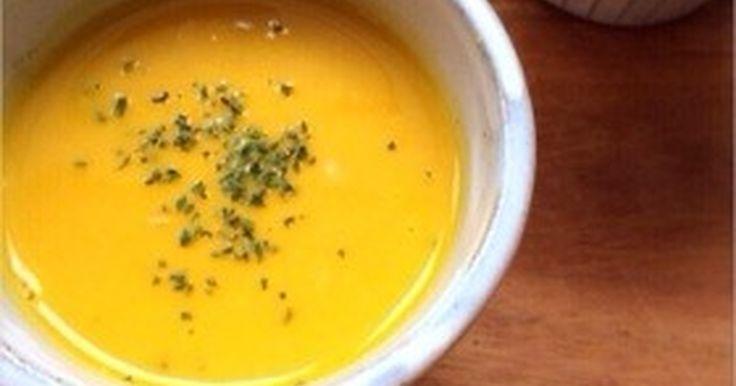 ★★★殿堂入りレシピ★★★つくれぽ1100 件 ほっこり甘〜い♪ 濃厚なかぼちゃスープ♪ 隠し味でコクのある絶品スープに