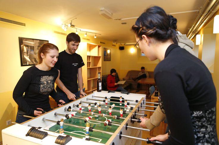 Studentenclub in der HfTL