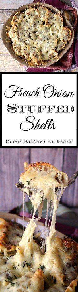 Recipe for French Onion Stuffed Shells