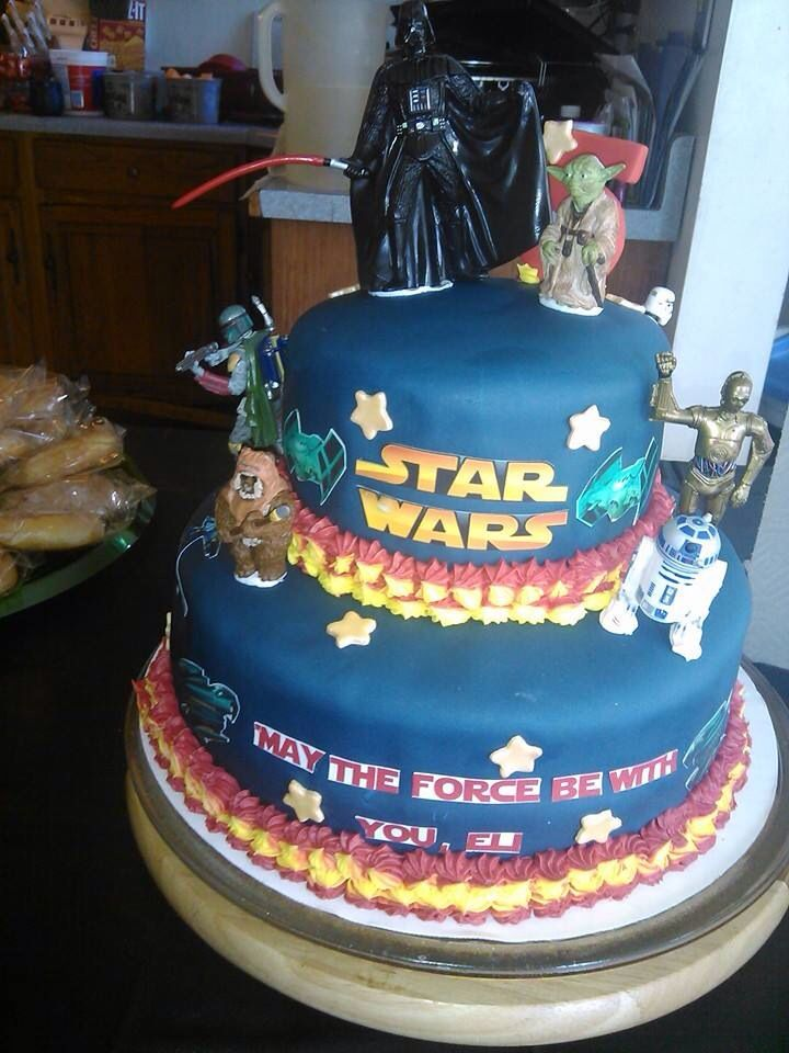 Star wars cake, Star Wars and War on Pinterest