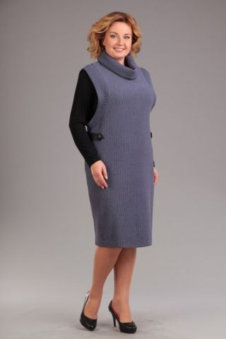 Тёплое платье с гольфом - заказать и купить с доставкой в интернет-магазине «L'MARKA»