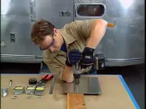 We've been watching a lot of this guy's videos lately - Airstream Restoration - Aluminium Wall Episode 3-2