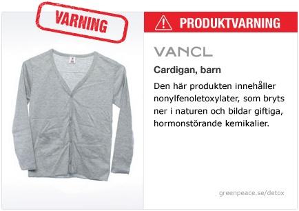 Vancl Cardigan, barn