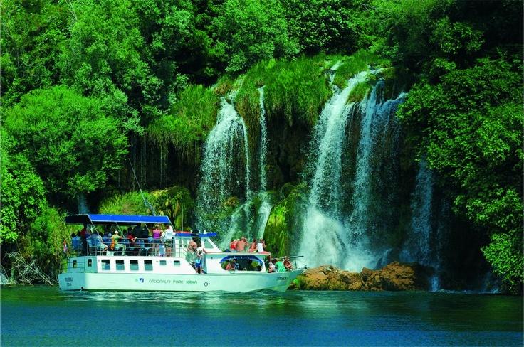 Beautiful waterfalls on the Krka River :)