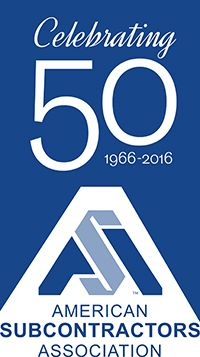 ASA Logo 50th Anniversary