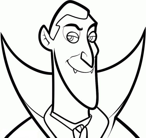 Count Dracula From Hotel Transylvania Coloring Pages Bulk Color Hotel Transylvania Dracula Hotel Transylvania Dracula Cartoon