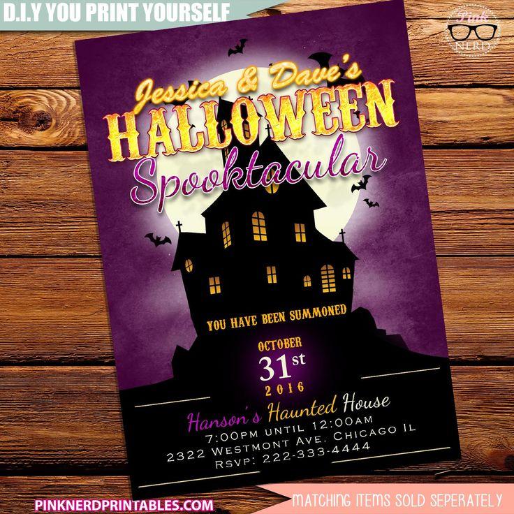 44 best Halloween invitations , Kids Halloween Party, Adult ...