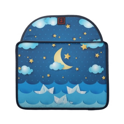 Sea at Night Sleeve For MacBooks $67.95