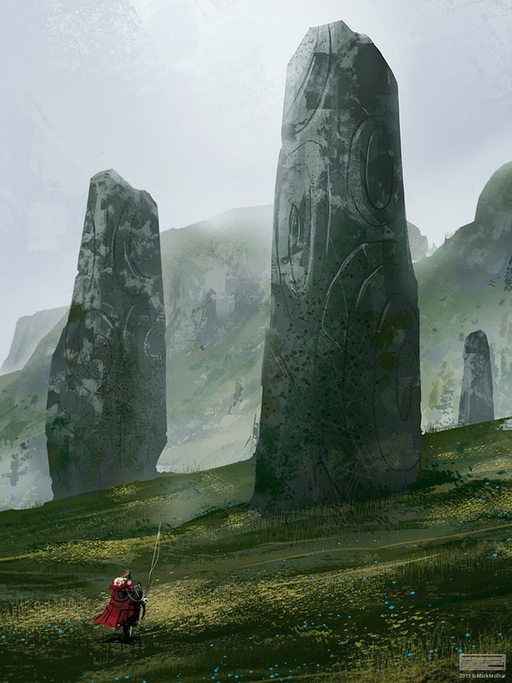 The Fingers of Dawn. The elementalists all come here due to the strong gathering of nature magic in one place, it is considered holy ground to them.