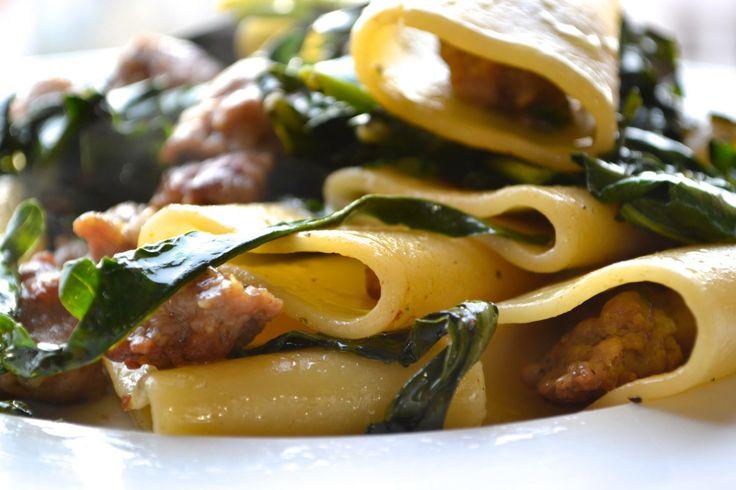 """Pasta with Salsiccia & Friarielli"": great classic of neapolitan cuisine."