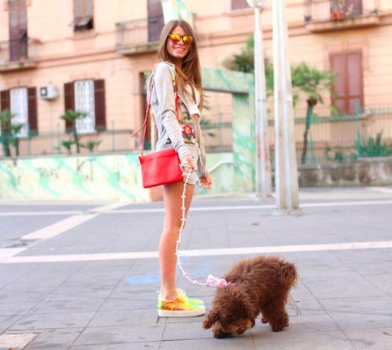 #ChiaraNasti indossa la felpa #Lollystar della collezione #PE2014