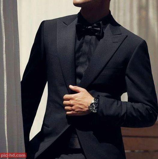 رمزيات شباب اجمل صور رمزيات شباب كشخه رمزيات شباب كيوت All Black Tuxedo Black Suit Wedding All Black Suit