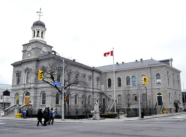 Old Courthouse (1848),                   St Catharines, Ontario by Uncle Lynx, via Flickr