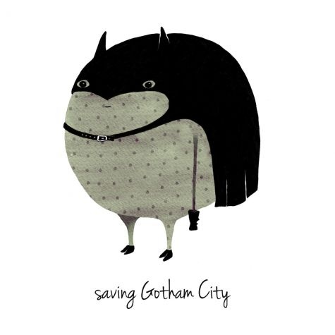 Saving Gotham by Anna Grape.