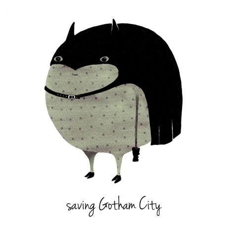 Saving Gotham by Anna Grape.