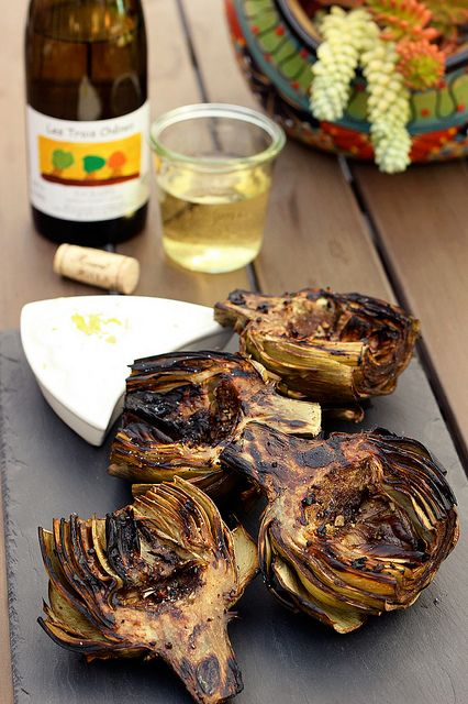 Grilled Marinated Artichokes with Wine Pairing from BestWinesOnline.com by Tasty Yummies, via Flickr