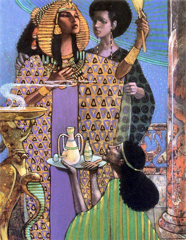 Leo and Diane Dillon   ILLUSTRATION | Aida