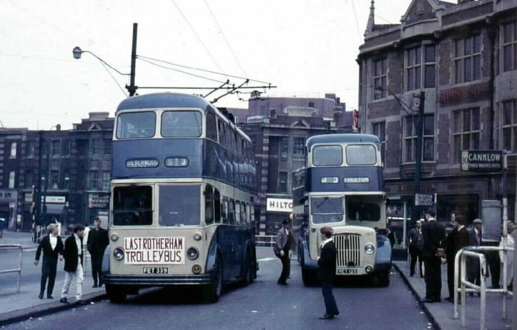 Last Rotherham Trolley Bus