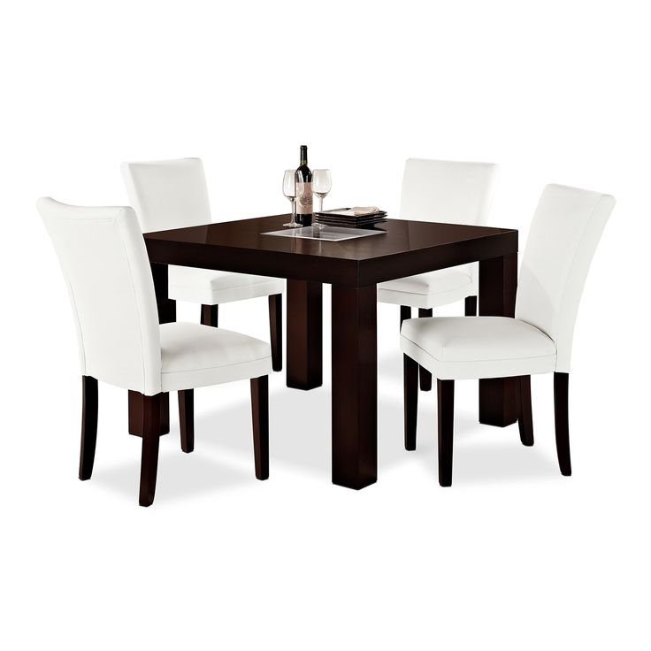 "Impressive Value City Furniture Dining Room Sets: Tango Caravelle III Dining Room 5 Pc. Dinette (42"" X 42"