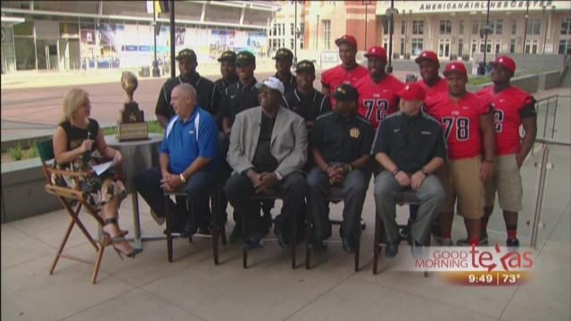 From WFAA Good Morning Texas: North Texas Chevy Dealers show their support for High School Sports and the Lone Star Kickoff Classic #TTHL