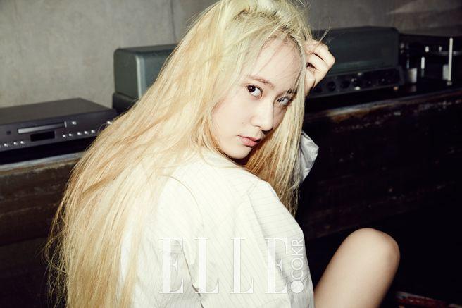 Krystal - Elle Magazine August Issue '14