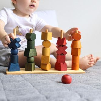 Blog Post: Tell me a Wooden Story Inspired by Nature. Not only are Wooden Story blocks and toys beautiful but their story is inspirational. This Polish brand makes heirloom toys with a conscience, a gorgeous gift to give and to receive.