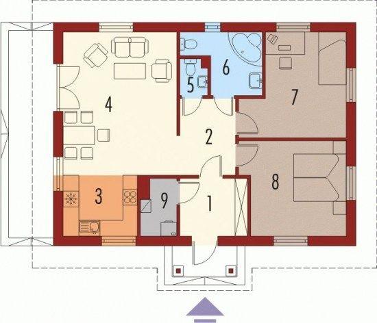 Case de vis mici cu doua dormitoare - 3 proiecte detaliate