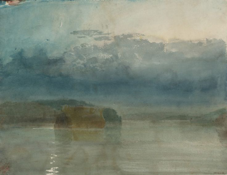 Turner, Hulks on Tamar, Twilight, 1813
