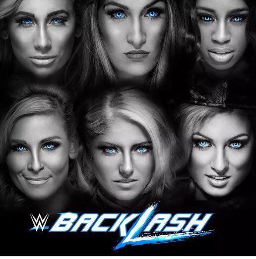 Nikki Bella, Naomi, Carmella, Natalya, Alexa Bliss, Becky Lynch