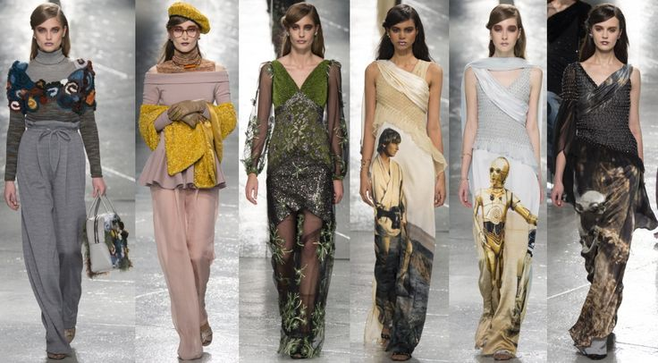 Rodarte #FW2014 #NYFW #fashion #fashionshow #newyork