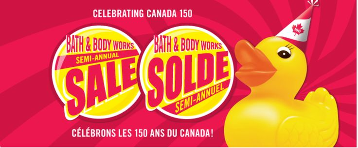 Bath & Body Works Canada Semi-Annual Sale Starts Today with $10 off any $40 Purchase Coupon & More Offers http://www.lavahotdeals.com/ca/cheap/bath-body-works-canada-semi-annual-sale-starts/208806?utm_source=pinterest&utm_medium=rss&utm_campaign=at_lavahotdeals