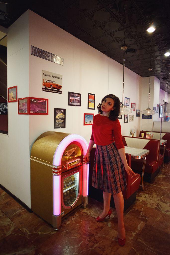 "cosplay ""Twin Peaks"", Audrey Horne ph: Ма Ри md, st: Olga Rusakova"