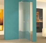 Wet Room Shower Screens from Unishower, Hinged Wet Room Shower Glass Panels