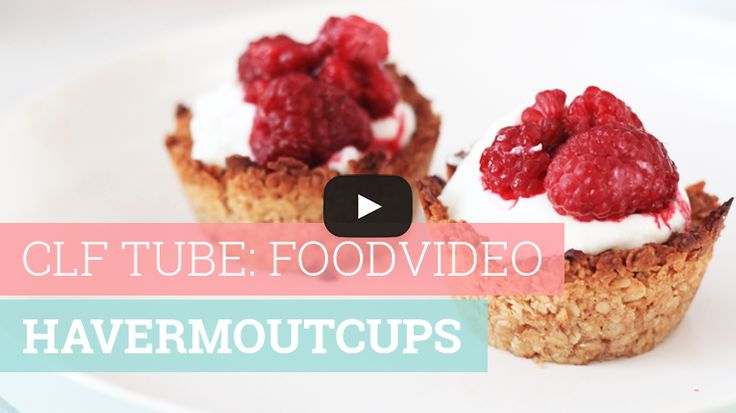 Foodvideo: Havermoutcups
